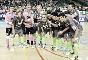 Inter Movistar repite triunfo en el Trofeo Cervantes