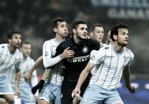 Felipe Anderson marca dois, mas Inter se recupera e arranca empate da Lazio