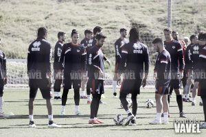 Baena trabaja al margen a dos días del Madrid