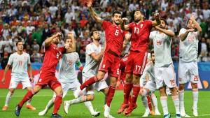 Irán - España, puntuaciones de Irán jornada 2 Mundial Rusia 2018