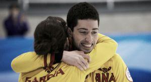 Bronce pionero de Irantzu García y Sergio Vez en el Mundial de Dobles Mixto de curling