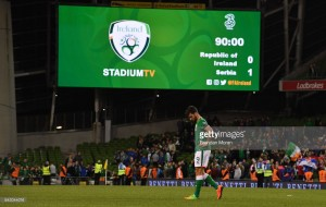 Republic of Ireland 0-1 Serbia: Kolarov strike leaves O'Neill's men on the brink