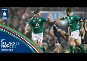 Sei Nazioni 2017: una bella Irlanda sconfigge la Francia