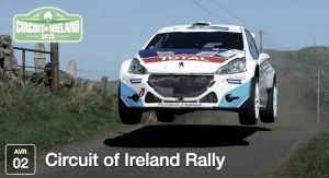 Cerrada la inscripción del Rally de Irlanda con 50 participantes