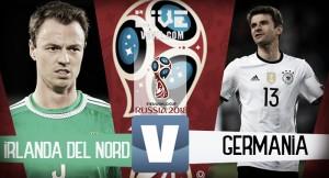 Risultato Irlanda del Nord - Germania in diretta, LIVE Qualificazioni Russia 2018 - Rudy, Wagner, Kimmich, Magellis! (1-3)