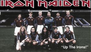 Iron Maiden, los sonidos metálicos del fútbol