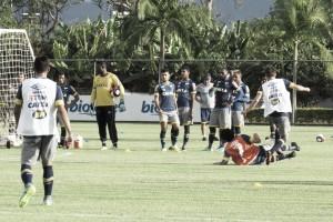 Gol do recém-contratado Hudson e retorno do lateral Fabrício marcam treino do Cruzeiro