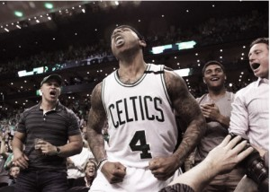 Enormous performance by Isaiah Thomas boasts the Celtics past the Wizards 129-119, to take 2-0 series lead