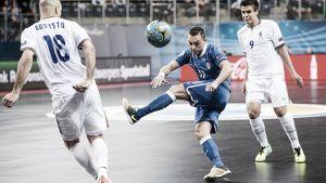 Italia golea a Azerbaiyán y se clasifica como primero del grupo C