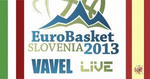 Eurobasket 2013: Italia - España en vivo y en directo online