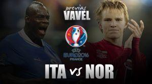 Italia - Noruega: un partido bipolar
