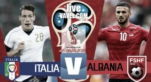 Terminata Italia - Albania in Qualificazioni Russia 2018. 2-0 firmato De Rossi e Immobile