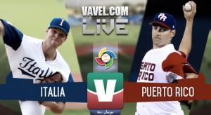 Resultado Italia vs Puerto Rico en Clásico Mundial Béisbol (3-9)