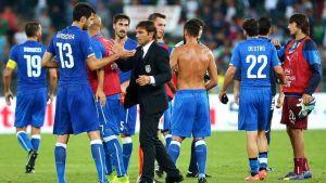 Bright start for Conte's Azzurri