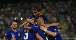 Italy 2-1 Azerbaijan: Two goals from Chiellini secures a narrow victory over Azerbaijan