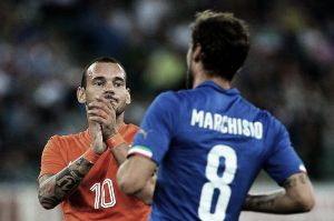 Holanda naufraga en Bari con una pobre Italia