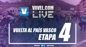 Resultado Etapa 4 de la Vuelta al País Vasco 2017: Roglic sorprende