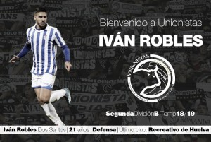 Iván Robles se une al infierno de Unionistas
