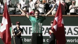 Indian Wells: Federer vuela alto