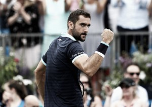 ATP Queens: Marin Cilic sees off Donald Young to make the last four