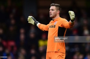 Jack Butland is eager to reclaim first place spot as Stoke goalkeeper