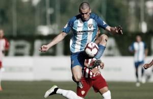 Jack Harper, del filial a ser el goleador del Málaga
