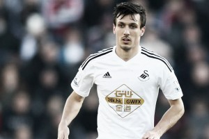 Swansea City's Jack Cork believes he and his teammates will show 'a big reaction' against Leicester
