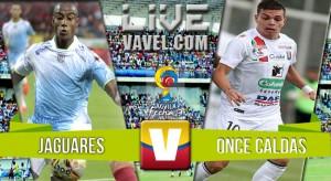 Resultado Jaguares vs Once Caldas en Liga Aguila 2016 (1-1)