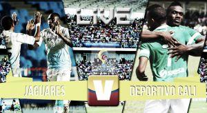Jaguares vs Deportivo Cali, Liga Águila 2015 en vivo y en directo (0-0)