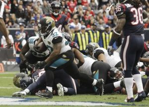 Los Jaguars vencen en Houston