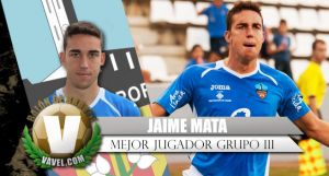 Jaime Mata, potencia para el nuevo Girona, con Dani Badia