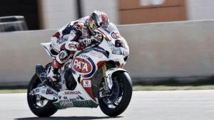 Pata Honda SBK finaliza sus test en Cartagena