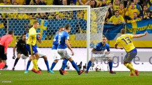 Sweden 1-0 Italy: Meatballers take slender advantage to Milan
