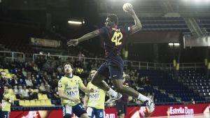 Fácil victoria del Barça contra el MMT Seguros Zamora