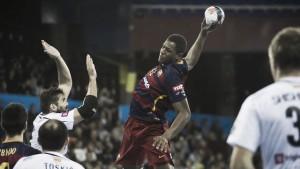 Un Jallouz desencadenado guía al Barça hasta el liderato