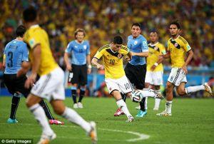 El mejor gol del Mundial es colombiano