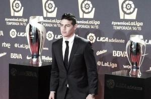 James Rodríguez, el mejor centrocampista de la Liga