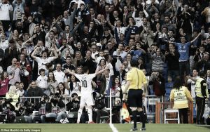 Real Madrid 3-0 Almeria: Comfortable home win for Real as they keep the pressure on Barcelona