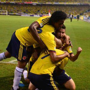 La Selección Colombia aseguró repechaje en Brasil 2014
