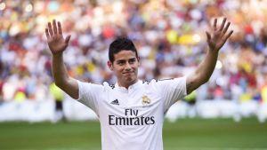 Real Madrid complete €90m signing of James Rodríguez