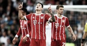 James aplicó la Ley del Ex en su regreso al Bernabéu