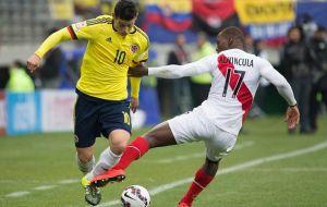 James y Casemiro siguen adelante en la Copa América