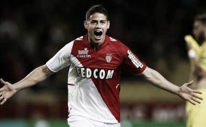 James Rodríguez mantiene al Monaco en ruta hacia la Champions