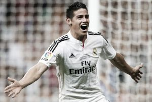 James nominado para integrar el once ideal de la UEFA en el 2014