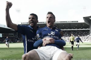 West Brom 2-3 Leicester City: Vardy injury-time winner gives Foxes upper hand in relegation scrap