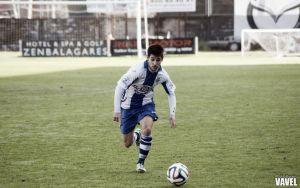 Avilés y Valladolid B empatan en un partido tosco y luchado