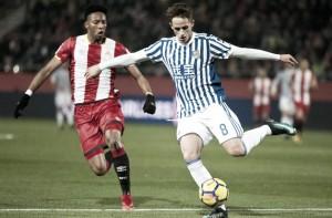 Girona FC - Real Sociedad: Puntuaciones de la Real Sociedad, 12ª jornada de la Liga Santader