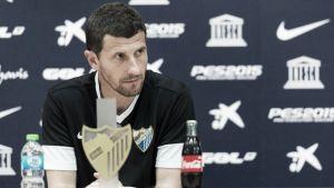 """Javi Gracia: """"Nuestras opciones para estar en Europa empiezan por ganar este partido"""""""