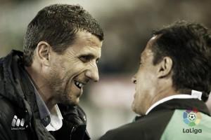 """Javi Gracia: """"Hemos sido capaces de lograr una victoria muy importante"""""""