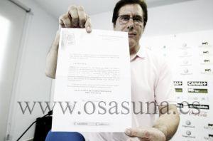 "Javier Zabaleta: ""Nekounam ha venido a Osasuna desechando una oferta económica de 800,000 euros anuales"""